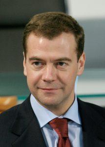 メドヴェージェフ首相