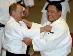 プーチンと山下泰裕