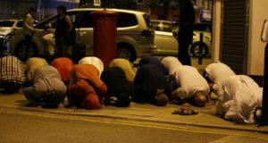 イギリスロンドンテロイスラム過激派と反イスラム主義者