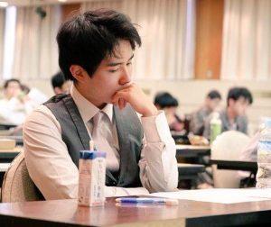佐々木勇気五段目つきイケメン高校大学