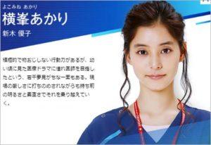 新木優子がコードブルーで炎上!成田凌とインスタ投稿でファン激怒!?