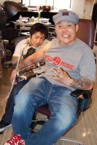 ET-kingいときんの刺青が凄い!肺腺がんで脳にも転移している!?