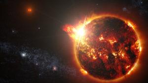 太陽フレアの影響は!?人体や飛行機・通信障害は?オーロラも見れる?