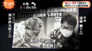 清水良太郎カジノ画像!遠藤要とフライデーされ美川憲一が激怒?